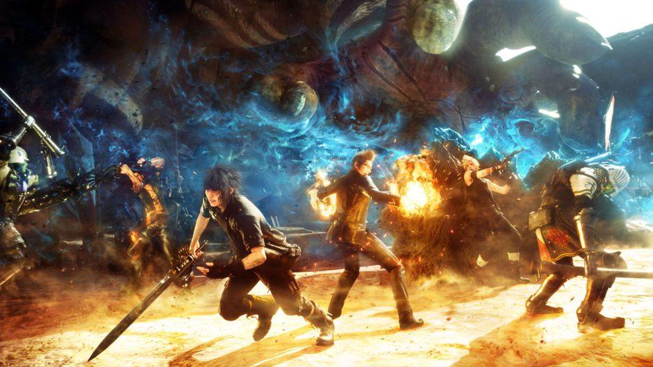La versión más estable de Final Fantasy XV es la de Xbox One