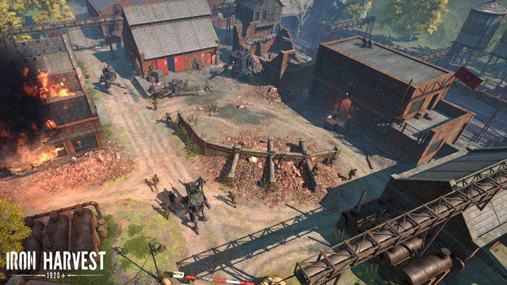 Una de las primeras imágenes que se ha dejado ver de Iron Harvest.