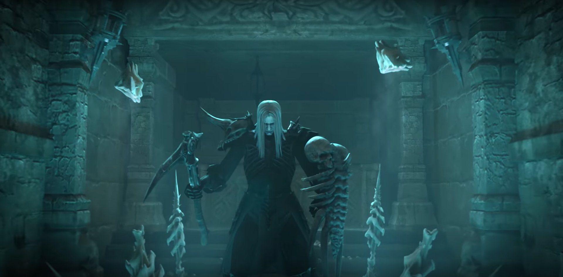 Diablo  Necro Rathman Skeltetan Mage Build
