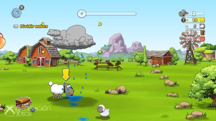 Análisis de Clouds & Sheep 2