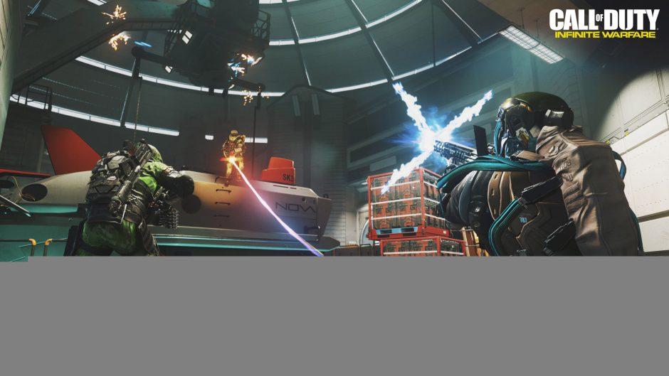 Podrás desactivar los wall-runs y los dobles saltos en las partidas privadas de Infinite Warfare