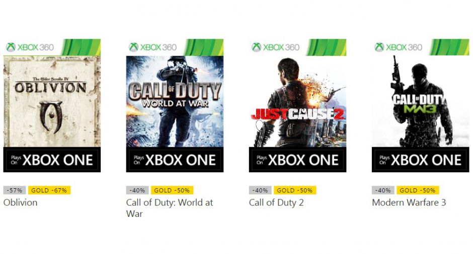 [ACTUALIZADA] Call of Duty Modern Warfare 3 y Oblivion podrían ser retrocompatibles en breve