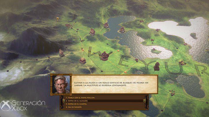 Así se llevan acabo muchas de las misiones secundarias.