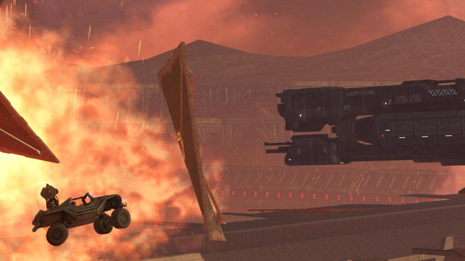 Coge tu Warthog y recorre el último nivel del primer Halo…¡En Halo 5!