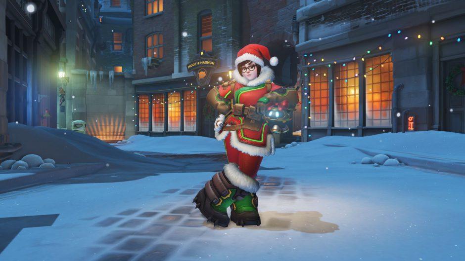 Blizzard pide disculpas por la skin navideña de Mei en Overwatch