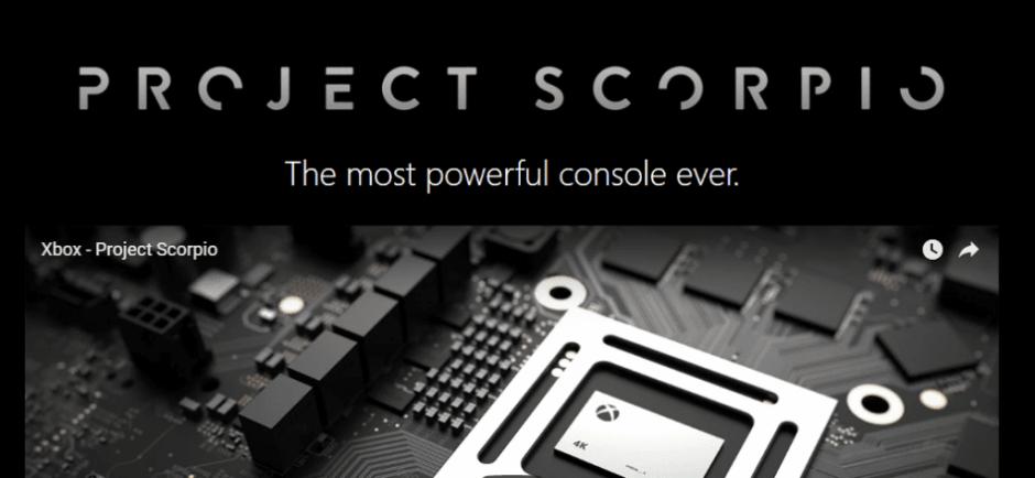 Según Danny Garfield, convivir con Xbox One limitará el potencial de Project Scorpio