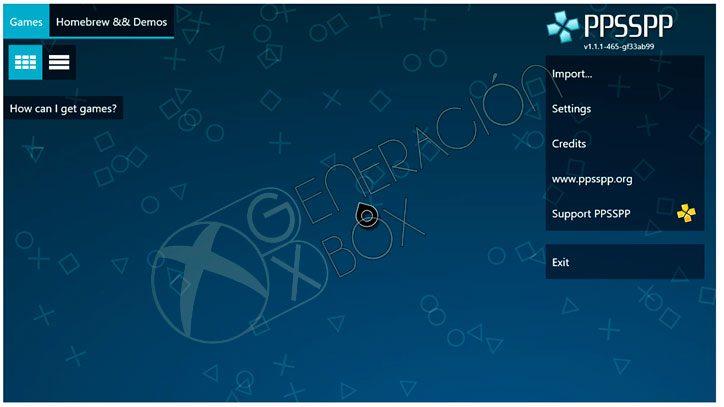 emulado-ppspp-generacion-xbox