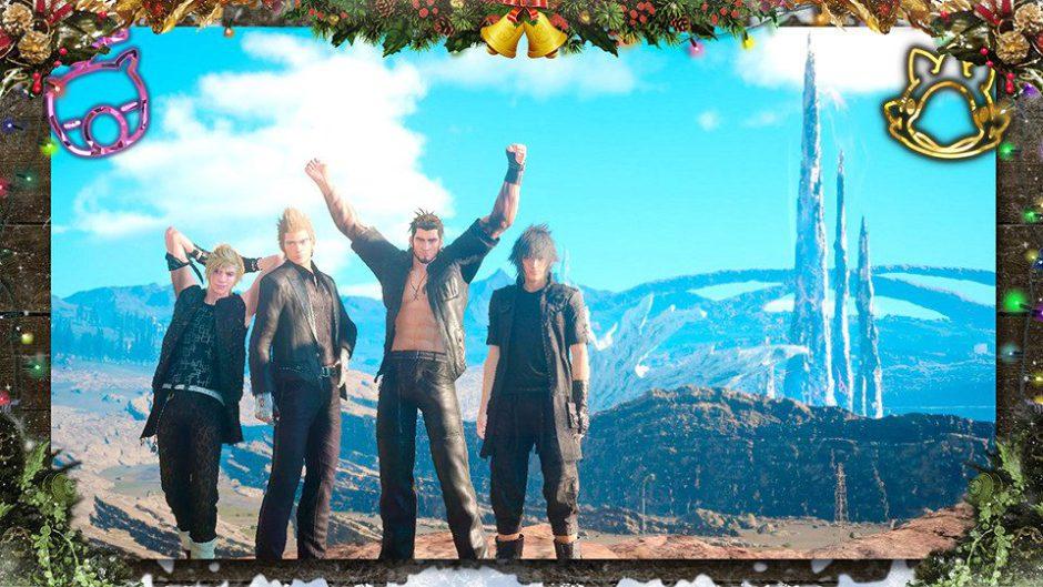Ya está disponible Holiday Pack, el primer DLC gratuito de Final Fantasy XV