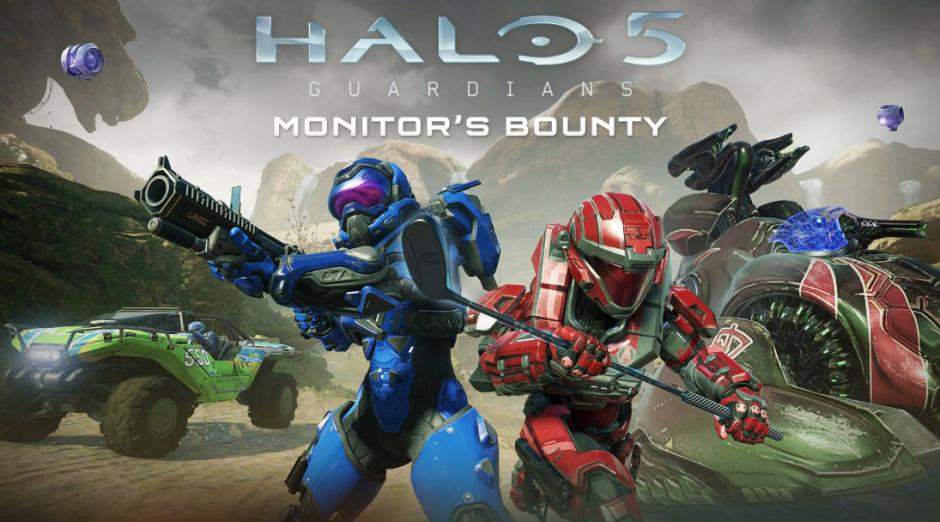 Este es el contenido de Monitor's Bounty, la nueva actualización de Halo 5: Guardians