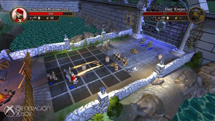 Análisis de Acorn Assault: Rodent Revolution