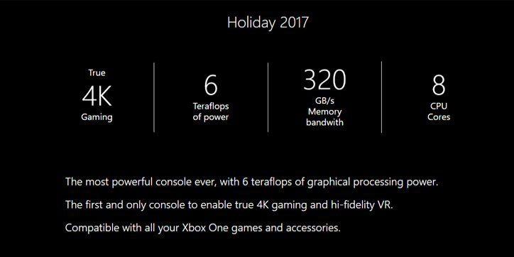 Project Scorpio y la Realidad Virtual HD no son pareja, Microsoft lo elimina de su web 1