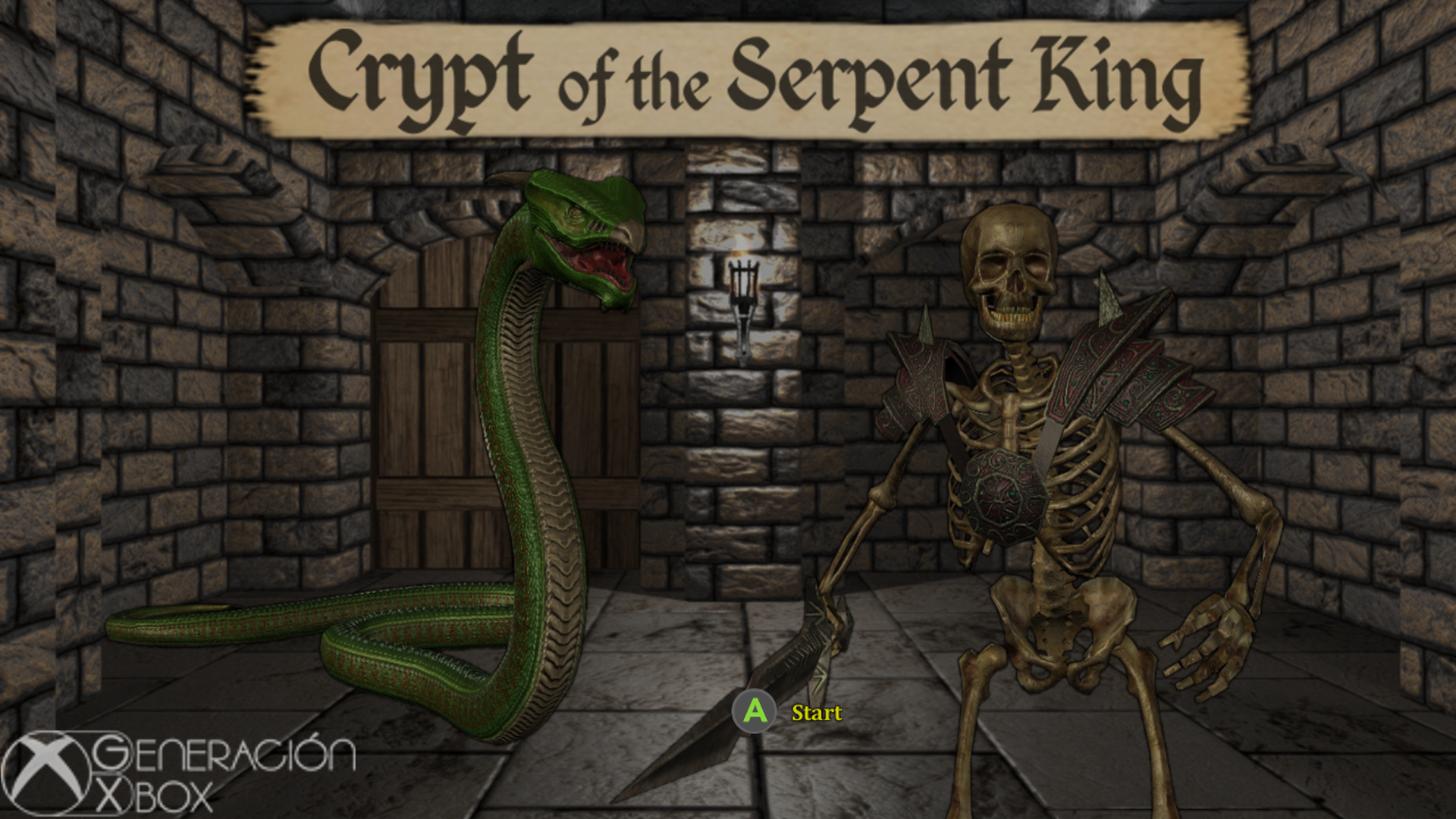 Análisis de Crypt of the Serpent King 1