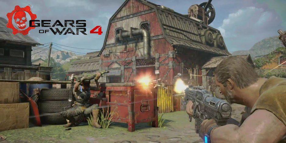 El multijugador de Gears of War 4 tendrá temporadas y otras novedades