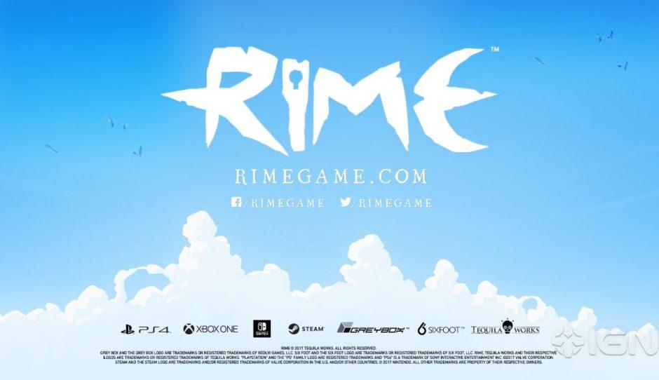 Trailer oficial de Rime que confirma su lanzamiento en Xbox One