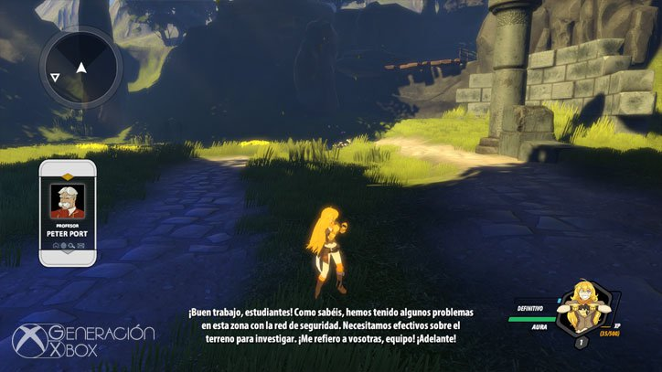 Análisis de RWBY: Grimm Eclipse