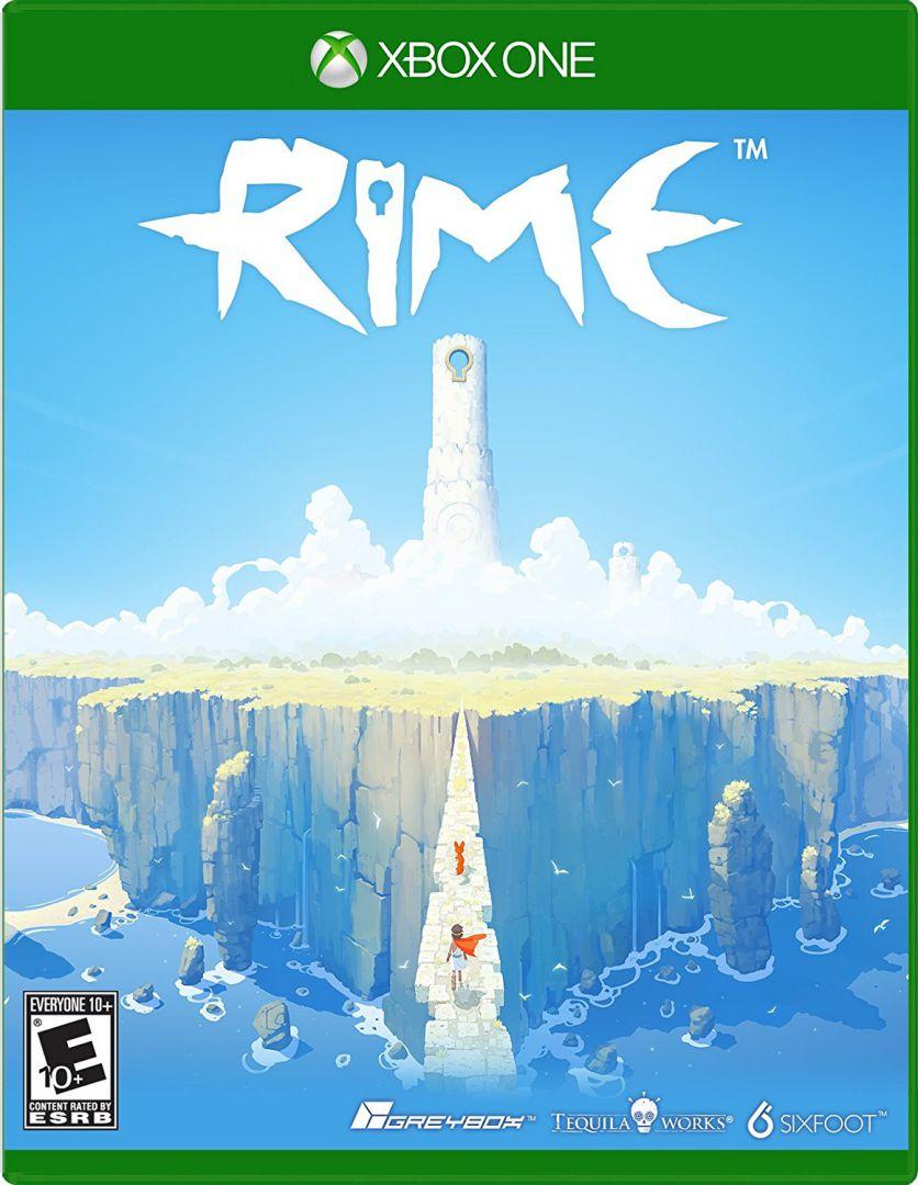 Caratula oficial de RIME en formato físico