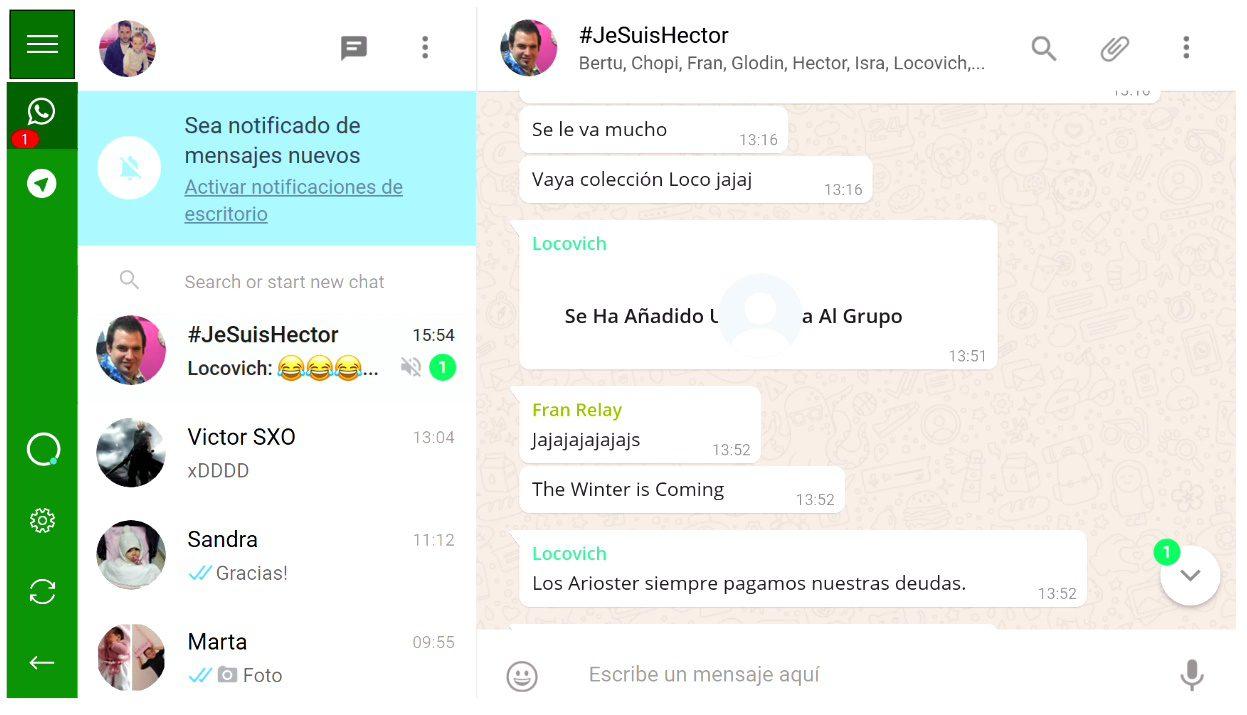 Gestiona Whatsapp, Telegram y más chats desde tu Xbox con Harvester Messenger