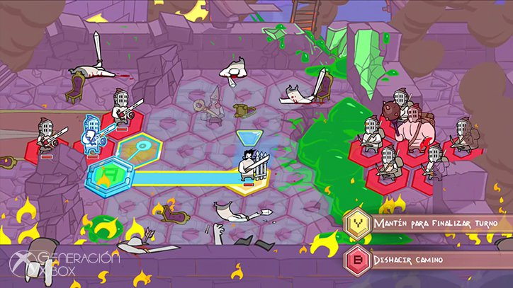 Impresiones de Pit People: The Behemoth repite el éxito de Castle Crashers