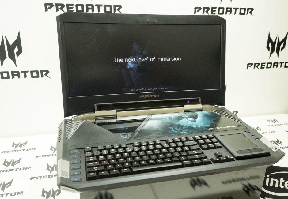 Acer presenta el Predator 21X, el portátil gaming con Windows 10 que costará 9.999 euros