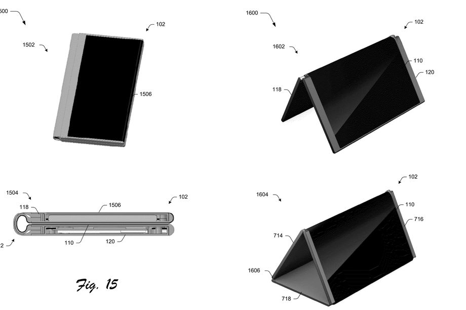 Microsoft podría haber patentado un híbrido entre teléfono y tablet