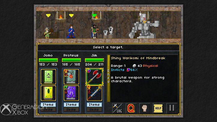 Análisis de Pixel Heroes: Byte & Magic
