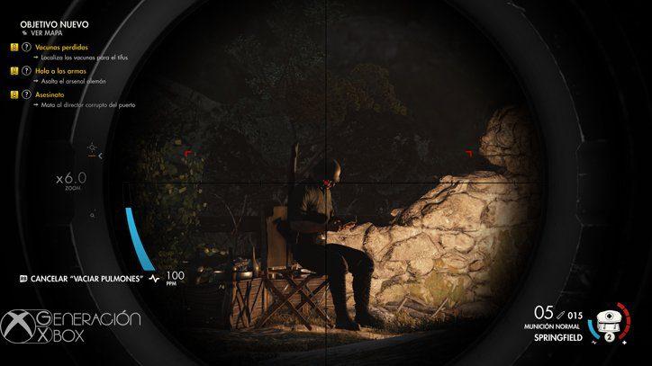 Análisis de Sniper Elite 4