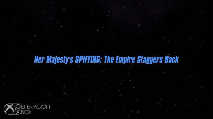 Análisis de Her Majesty's SPIFFING