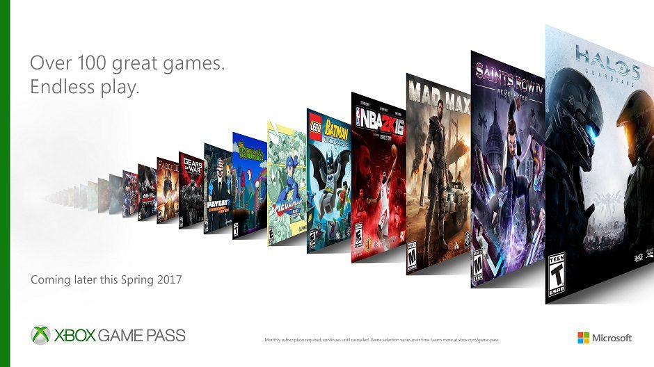 Microsoft presenta su alternativa mejorada a Playstation Now y EA Access con Xbox Game Pass