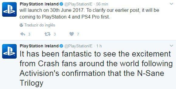 Se acabó el suspense, Crash Bandicoot N. Sane Trilogy no es exclusivo de PS4