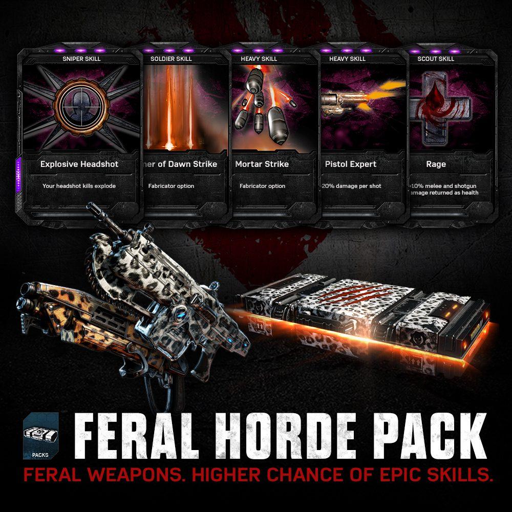 Aprovecha ya el modo Horda más salvaje de Gears of War 4