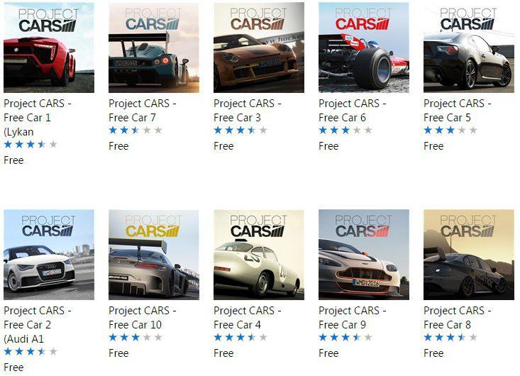 Aprovecha y descarga gratis estos 10 DLC´s para Project CARS