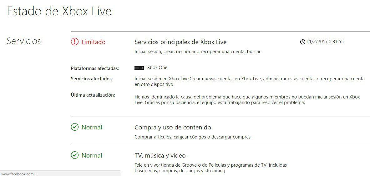 [Actualizada] Xbox Live se encuentra caído en estos momentos, problemas para acceder 2