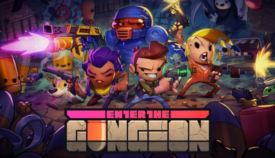 El exclusivo de PS4 Enter the Gungeon, llegará a Xbox One el 5 de abril