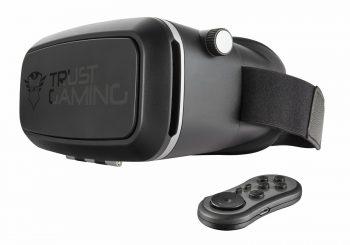 Trust Gaming presenta las GTX 720, unas gafas RV compatibles con smartphones y Windows 10