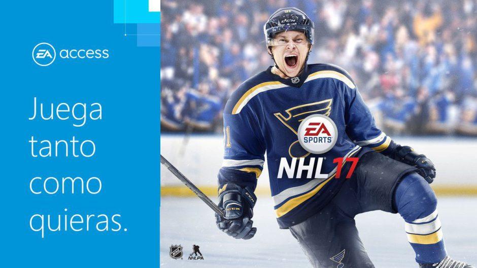Suma y sigue, NHL 17 se une al baúl de EA Access