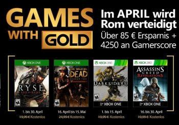 ¿Ryse al fin en los Games with Gold? Pues si, ya está confirmado para abril