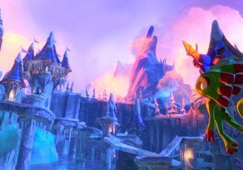 Yooka-Laylee nos muestra un atractivo gameplay en Glitterglaze Glacier, un mundo helado