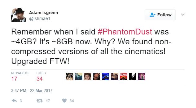 Phantom Dust