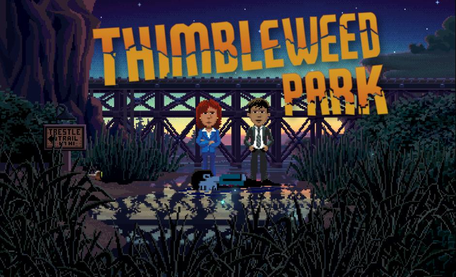 Thimbleweed Park ya disponible junto a su tráiler de lanzamiento