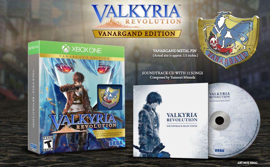 Valkyria Revolution llegará el 30 de Junio a Xbox One junto con la edición física
