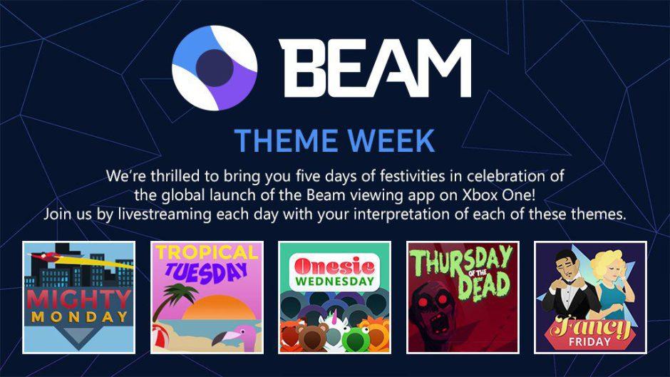Beam presenta una semana temática para celebrar su llegada oficial a Xbox One