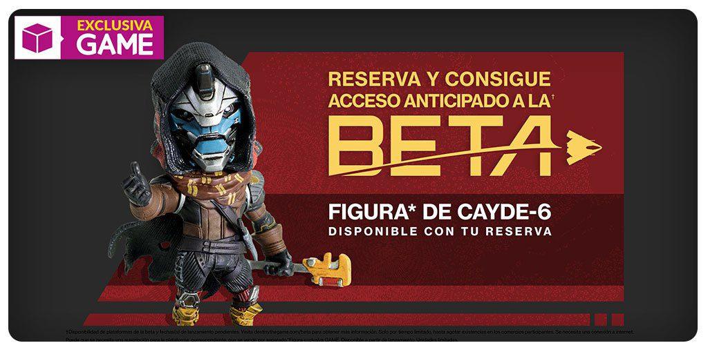 Consigue GRATIS la figura de Cayde-6 al reservar cualquier versión de Destiny 2 en GAME