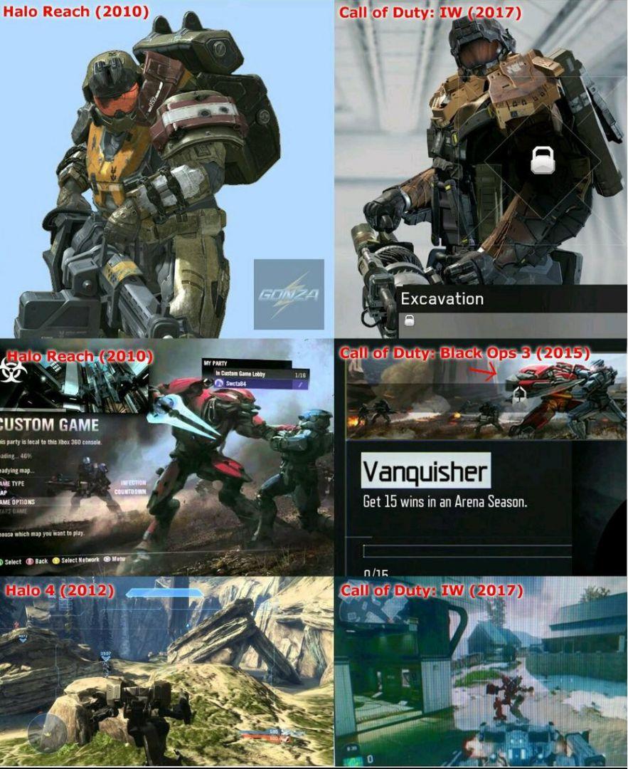El presidente de Gearbox acusa de plagio a Call of Duty WWII