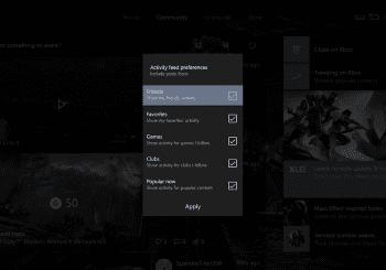 El feed de actividad mejorará en las próximas actualizaciones de Xbox