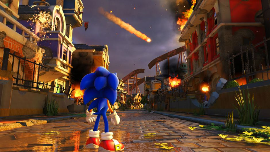 SEGA muestra el nuevo Sonic Forces en movimiento