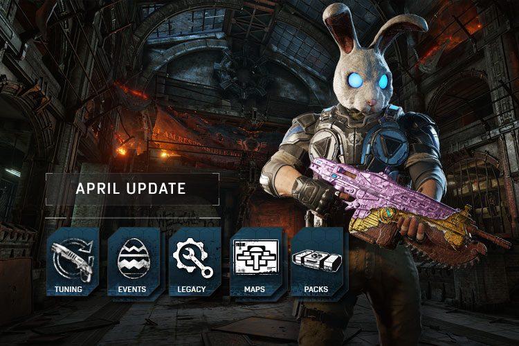 Llega la primavera a Gears of War 4 con la actualización de abril