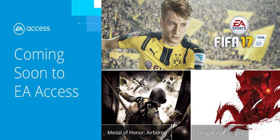 FIFA 17 será gratis en EA Access el próximo 21 de abril