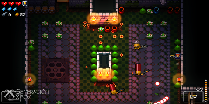 Análisis de Enter the Gungeon