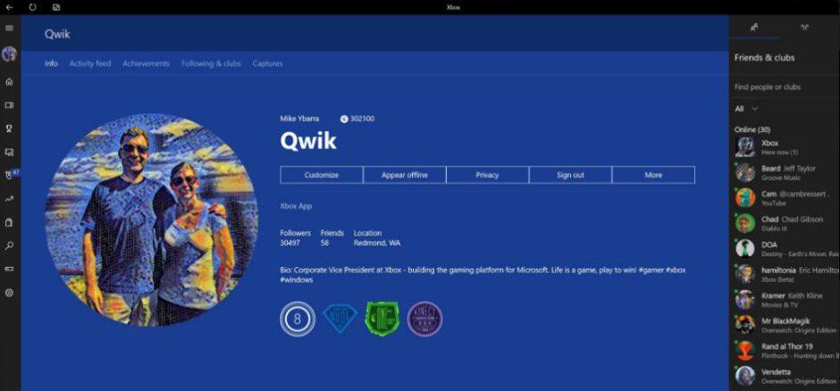 El primer vistazo a las gamerpics personalizables de las Gamertag en Xbox One
