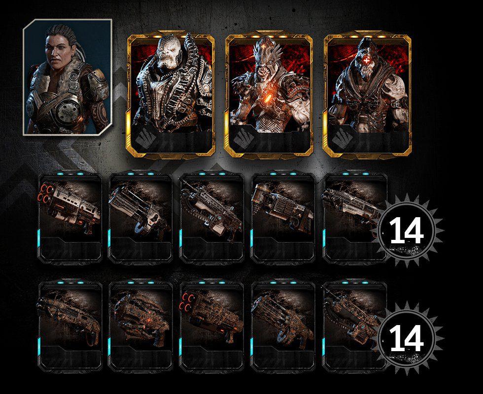 General RAAM Megapacks Gears of War 4